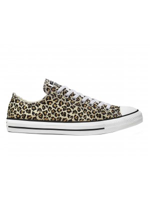 CONVERSE Chuck Taylor All Star Archive Cheetah Print Low Top Donna